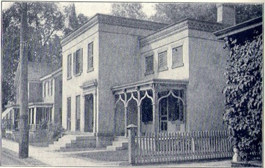 Dr. Stover's Division Street residence in Amsterdam