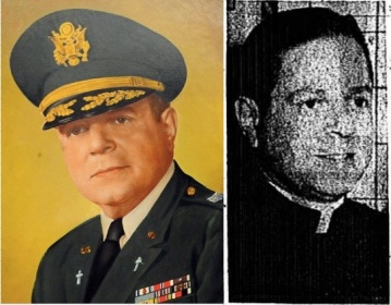 The two uniforms of Father Anthony Sidoti