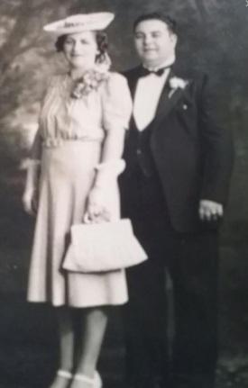 Anna & Tony Fischetti on their wedding day.