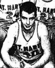 Tim Welch on the SMI basketball team in 1966
