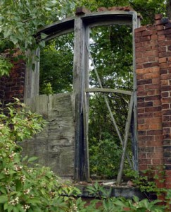 The last-standing remains of the Pioneer St. knitting mill once managed by John Fogarty.